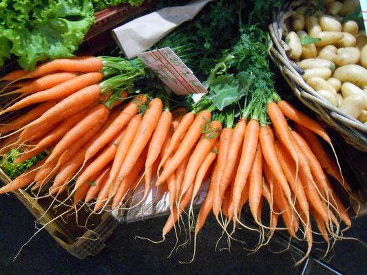 Les carottes du marché