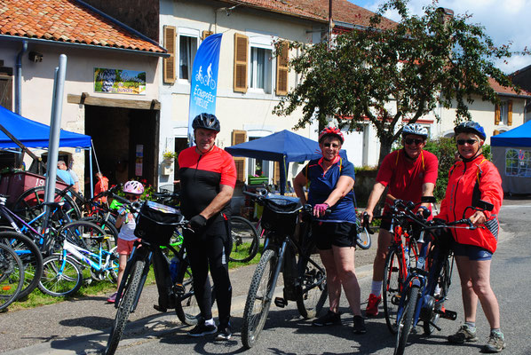 Les cyclotouristes se pressent en Meuse