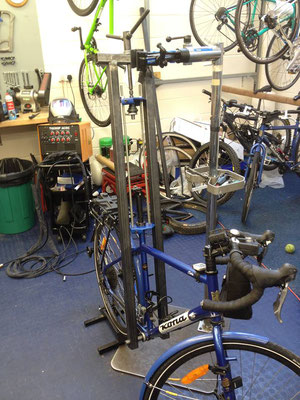 Removing a seized aluminium seatpost from a steel frame