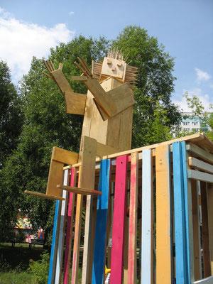 Plastik, 2011, Gemeinschaftsrbeit einer 10. Klasse
