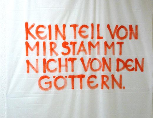 Wandgestaltung, 2009. Acryl auf Folie