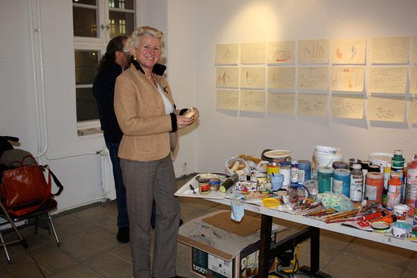 Galerie B, Ausstellungs-und Arbeitsraum, 2009, (Dr.med.Dorothea von Stumpfeldt)