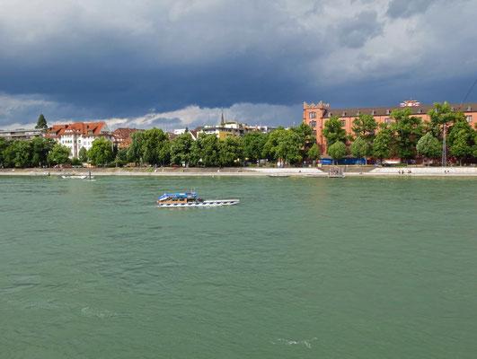 Gewittersimmung am Rhein
