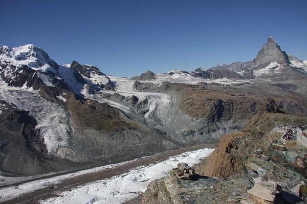Matterhorn und Breithorn