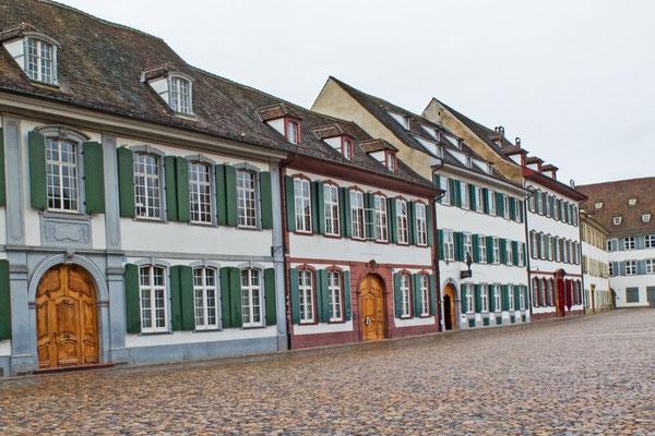 Häuser am Münsterplatz