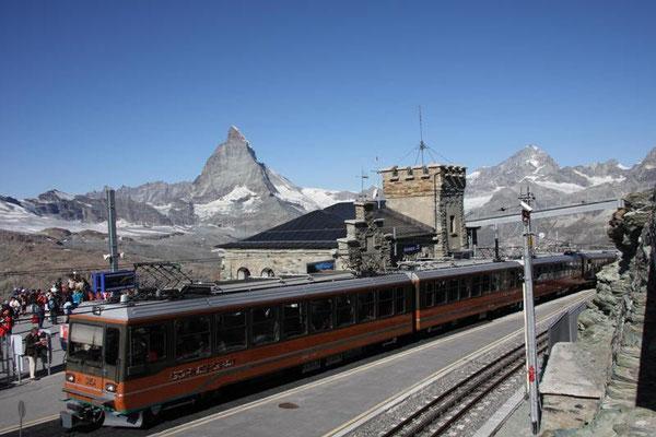 Station auf den Gornergrat 3089m