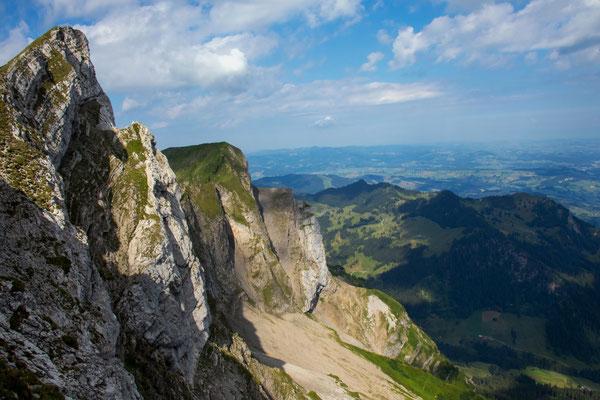 Tomlishorn 2132 m, höchster Gipfel vom Pilatus