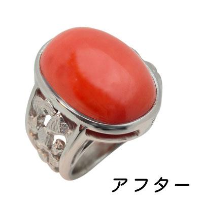 サンゴの指輪