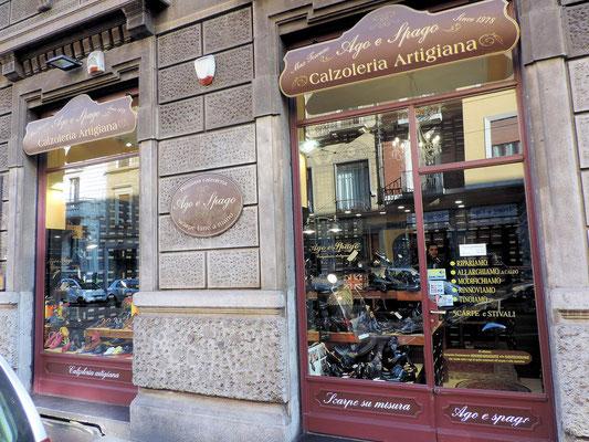 Negozi e Collezioni - Ago e Spago Milano - Calzoleria Artigiana ... 98d0bf1f5d3