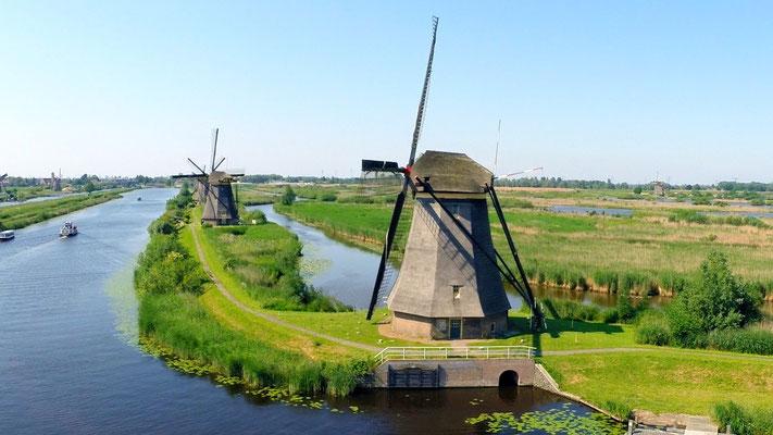 Historische windmolens, Kinderdijk