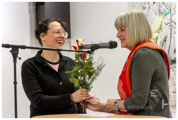 Adrianne Braun, Kulturjournalistin • Sabine Schäfer-Gold, 1. Vorsitzende KüFi