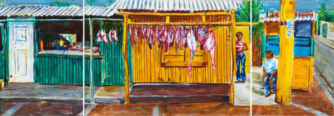 El otre Bandes, 2009 | 70x200 | Acryl auf Leinwand