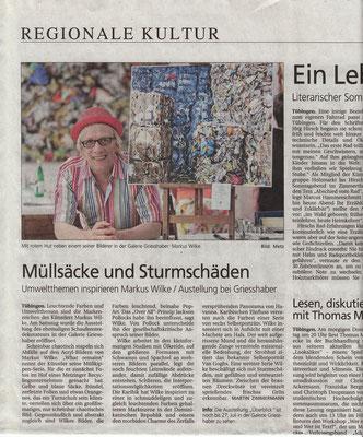 Schwäbisches Tagblatt 2013