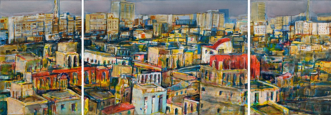 Habana por la manana, 2006 | 70x200 | Stiftungseigentum