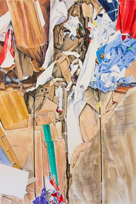 squash 2017, Acryl auf Leinwand 150 x 100 cm
