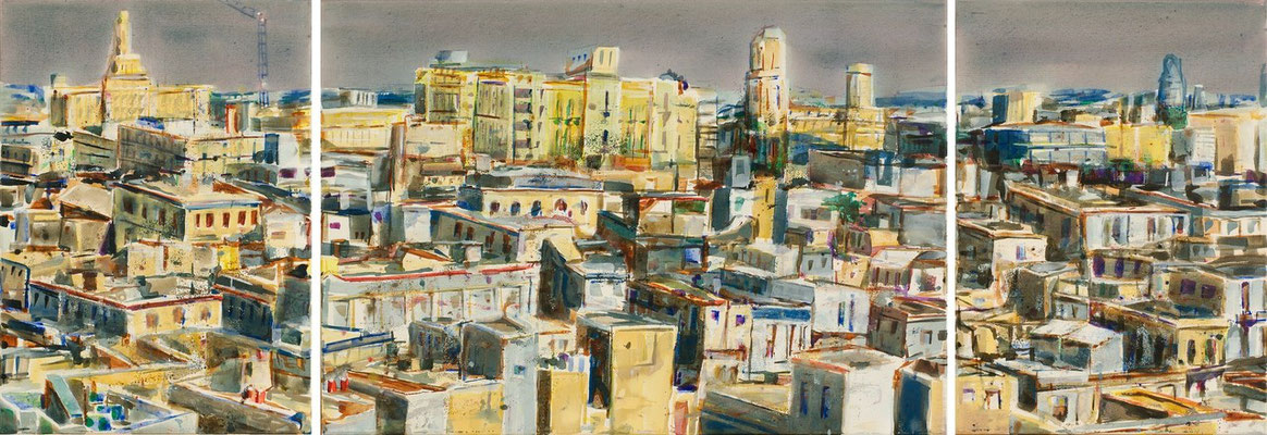 Habana por la tarde, 2006 | 70x200