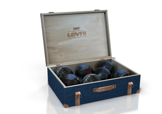 scatola da banco Levi's