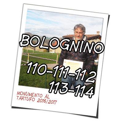 bolognino 110, 111, 112, 113, 114 Associazione Tartufai Parmensi