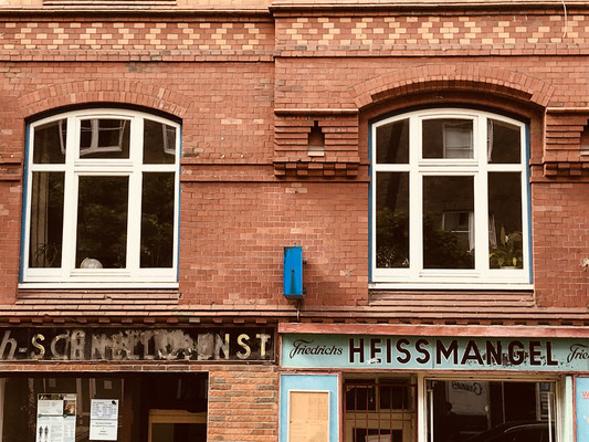 Vintage Stprefront. Shot: Hamburg, 2018
