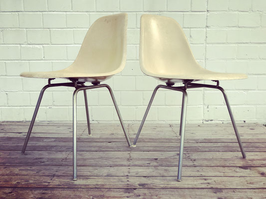 Ray & Charles Eames DSX Chairs für Herman Miller
