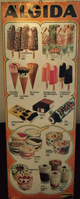 Algida Icecream sign