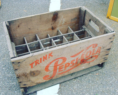 Old Pepsi Cola Wood box