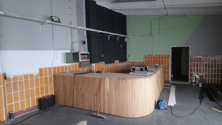 Cafebar Theke