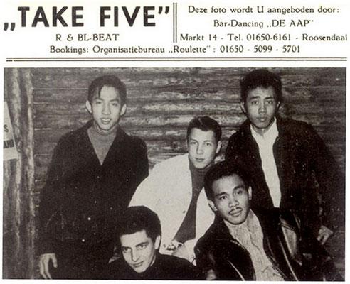 Take Five uit Roosendaal (Kerstmis 1966)