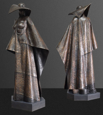 Pose, bronze, 1/8, 80 cm. Price on request