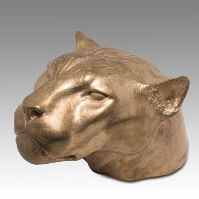 Jaguar, 30 cm, Bronze, Edition: 8. Price on request