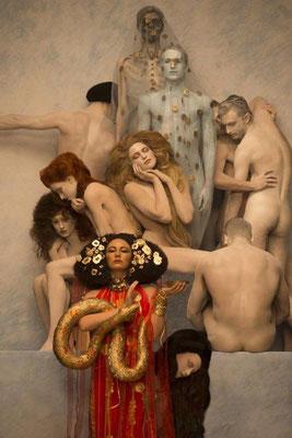 Inge Prader, Medicine, 100x75 cm. Price on request
