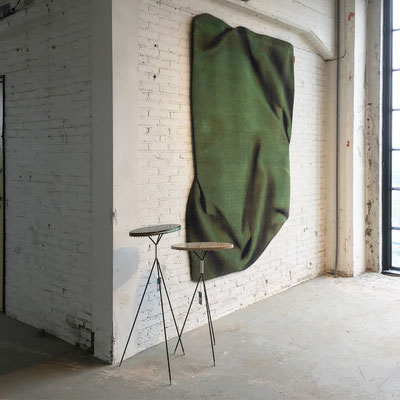 Celia Hadeler Rugs Emerald Green 230 x 165 cm