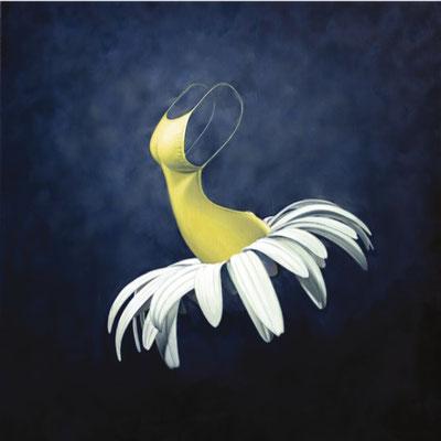 Magritte, 100x100 cm. M