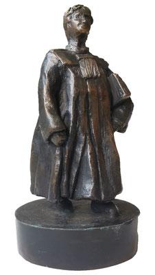 Bronzen beeld Advocaat Bronze 18 cm