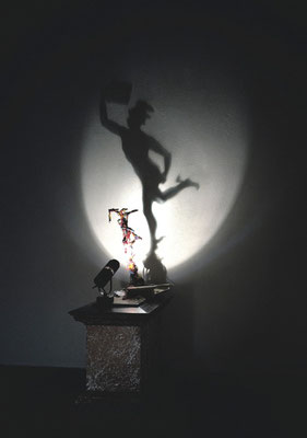Hermes. Shadow sculpture.