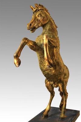 Bronze horse, 240 cm
