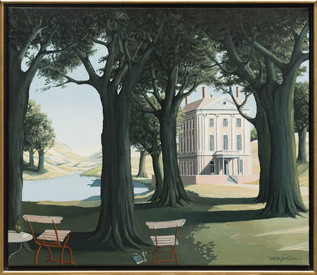 Joop Polder French Estate 60x70 cm SOLD