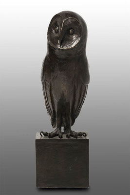 Willemien Fransen Kerkuil Brons 33 cm hoog Prijs op aanvraag / Price on request