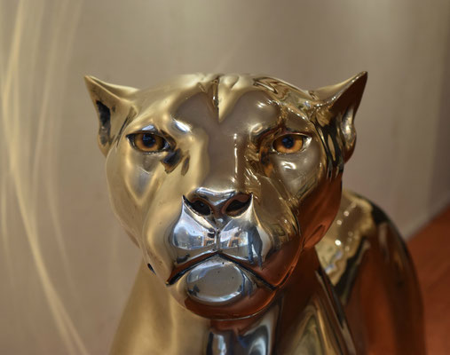 Jaguar, 80 cm, Bronze, Edition: 8, EUR 29.500