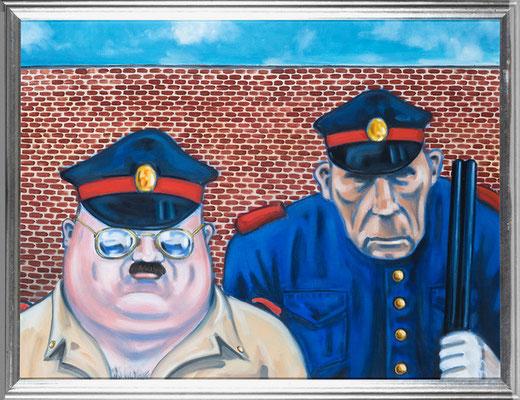 Passaporte por favor, oil on canvas, 50x70 cm