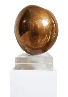 Ton Voortman, Vruchtvlees, bronze, 50x32 cm. Unique