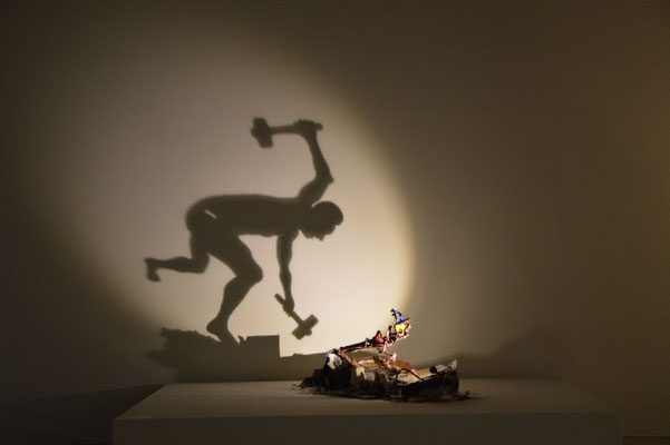 Big Bang.  Shadow sculpture.