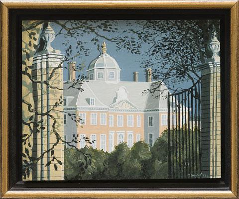 Joop Polder Huis Ten Bosch, 20x13 cm SOLD