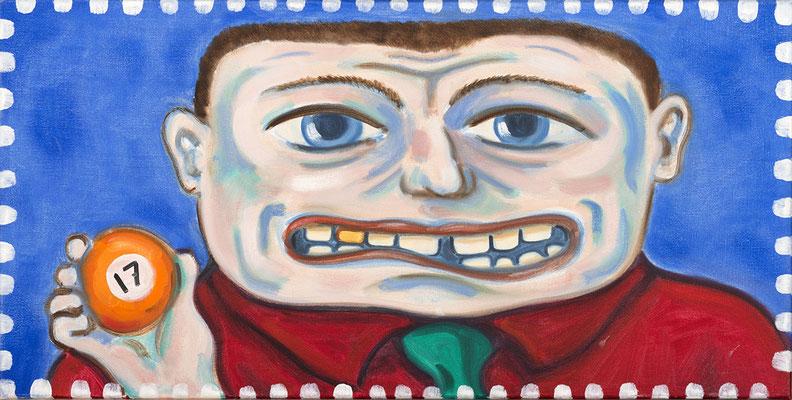 Lingo, 50x70 cm, oil on canvas