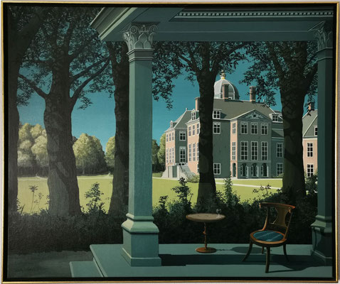 Joop Polder,The Palace Garden, 120x100 cm. Price on request.