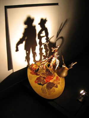 Rembrandt Illuminated. Shadow sculpture.