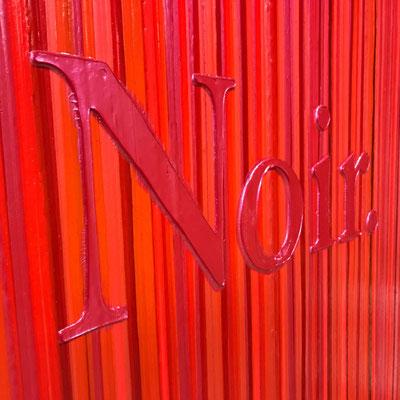 Kevin Langedijk | Noir | Mixed Media on canvas |  120x80 cm | SOLD