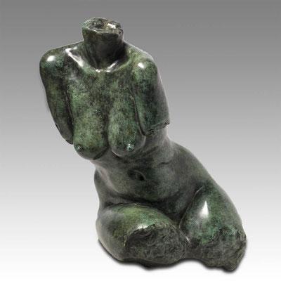 Godfried Dols, bronze, Omaggio, 60x50x43 cm. EUR 9,500