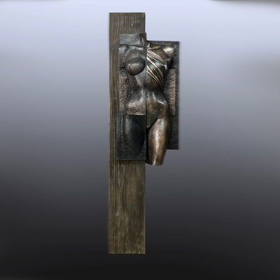Destruction, bronze, 1/8, 120 cm. EUR 4750