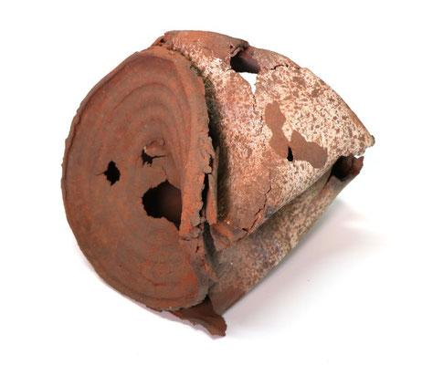 Ceramic sculpture.